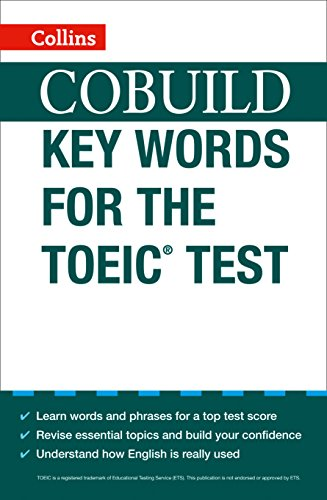 9780007458837: COBUILD Key Words for the TOEIC Test (Collins English for the TOEIC Test)