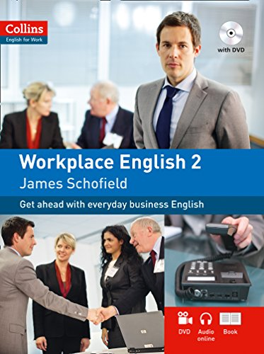 9780007460557: Collins Workplace English 2 (includes audio CD and DVD) (Collins English for Work)