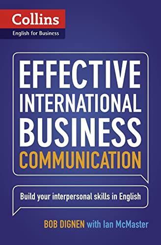 9780007460564: Effective International Business Communication: B2-C1 (Collins Business Skills and Communication)