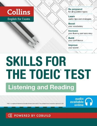 9780007460571: TOEIC Listening and Reading Skills (Collins English for the TOEIC Test)