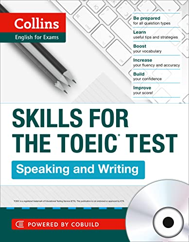 9780007460588: TOEIC Speaking and Writing Skills : TOEIC 750+ (B1+) (Collins English for the TOEIC Test )