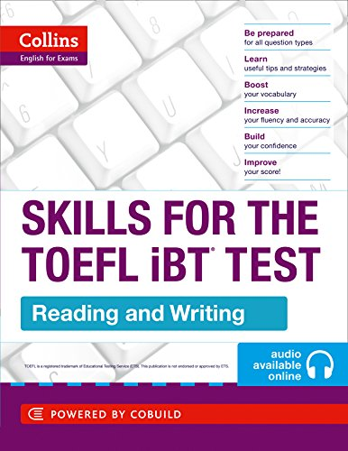 9780007460595: TOEFL Reading and Writing Skills (Collins English for Exams)