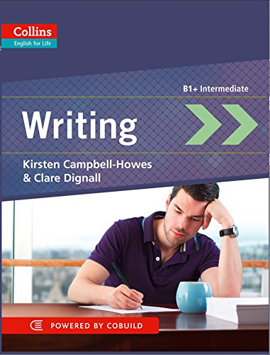 9780007460618: Writing: B1+ Intermediate (English for Life)