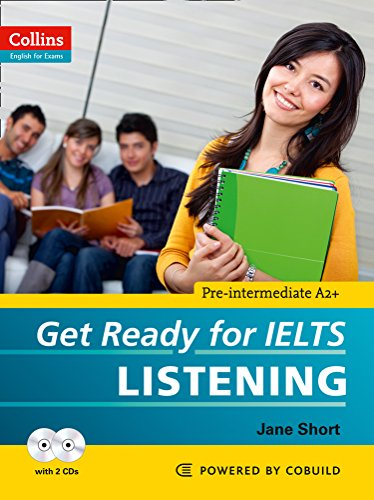 9780007460625: Collins Get Ready for IELTS Listening (Paperback and CD) (Collins English for IELTS)