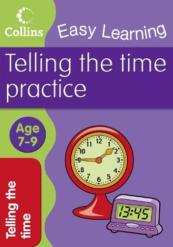9780007461639: Easy Learning: Telling Time Ages 7-9 (Collins Easy Learning Age 7-11)
