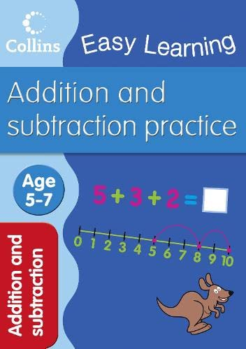 9780007461646: Addition and Subtraction: Ages 5-7 (Collins Easy Learning Age 5-7)