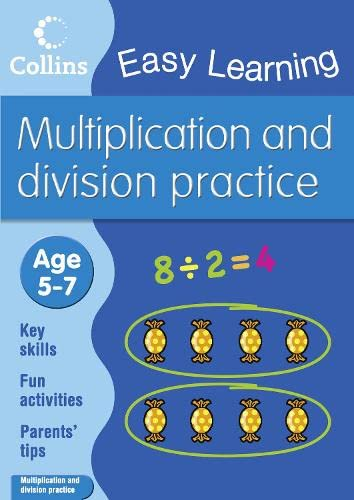 9780007461660: Multiplication and Division (Collins Easy Learning Age 5-7)