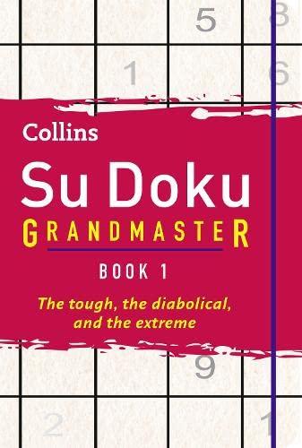 9780007463510: Collins Su Doku Grandmaster Book 1