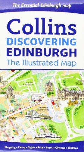 9780007464531: Discovering Edinburgh Illustrated Map
