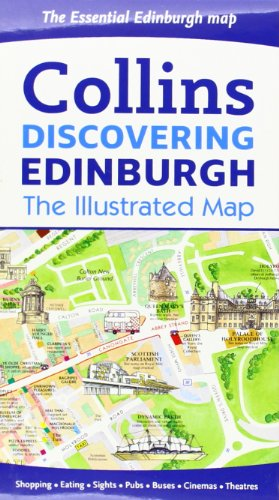 9780007464531: Discovering Edinburgh Illustrated Map (Collins Travel Guides)