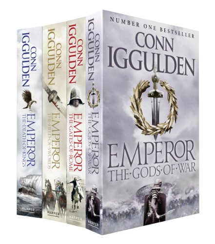 9780007464920: Emperor Set: The Gates of Rome, The Death of Kings, The Field of Swords, The Gods of War