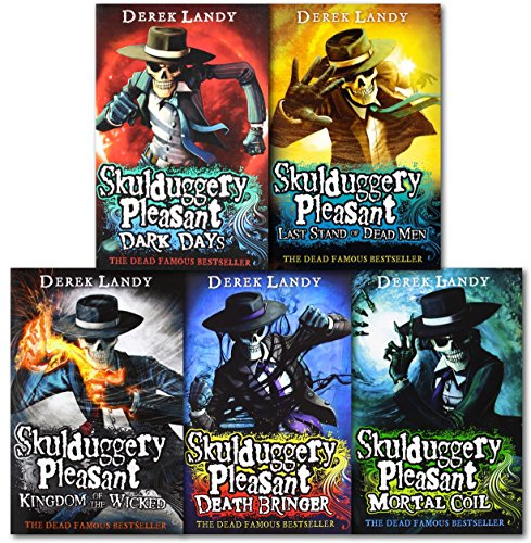 9780007464982: Skulduggery Pleasant Series 1 and 2 Collection By Derek Landy 6 Books Set
