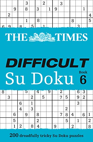 9780007465163: The Times Difficult Su Doku Book 6