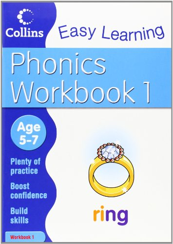 9780007467310: Phonics Workbook 1 (Collins Easy Learning Age 5-7)