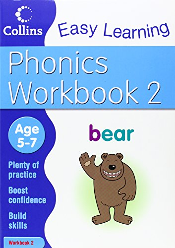 9780007467327: Phonics Workbook 2 (Collins Easy Learning Age 5-7)