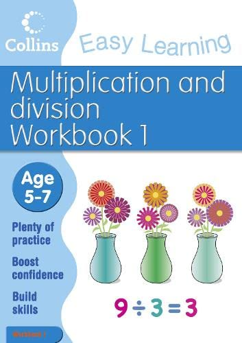 9780007467389: Multiplication and Division Workbook 1: Age 5-7 (Collins Easy Learning Age 5-7)