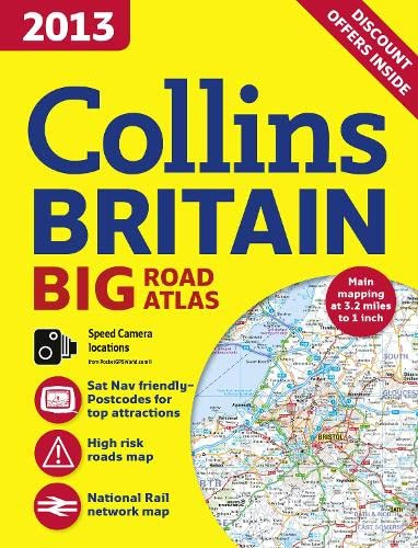 9780007468591: 2013 Collins Britain Big Road Atlas (International Road Atlases)