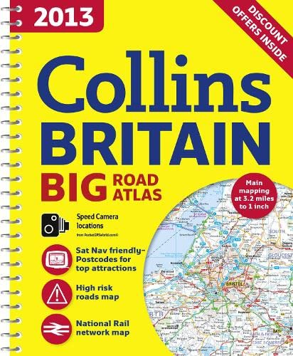 9780007468607: 2013 Collins Britain Big Road Atlas (International Road Atlases)