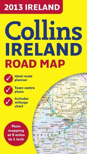 9780007468676: Collins Ireland Road Map 2013