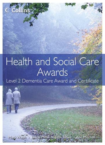 9780007468713: Health and Social Care Awards: Level 2 Dementia Care Award and Certificate