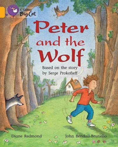 9780007470549: Peter and the Wolf Workbook (Collins Big Cat)