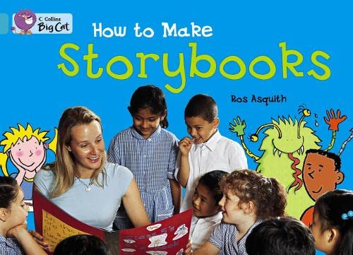 9780007470556: Collins Big Cat - How to Make a Storybook: Band 07/Turquoise
