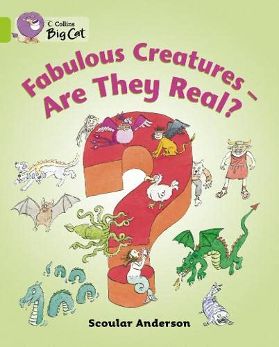 9780007470617: Fabulous Creatures: Are They Real? Workbook (Collins Big Cat)