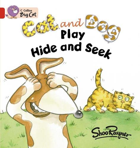 9780007471553: Cat and Dog Play Hide and Seek Workbook (Collins Big Cat)