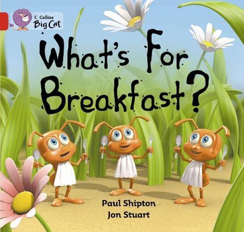 9780007471638: What's for Breakfast? Workbook (Collins Big Cat)