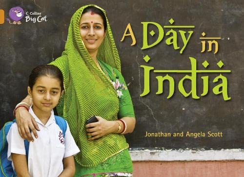 9780007473403: A Day in India (Collins Big Cat)
