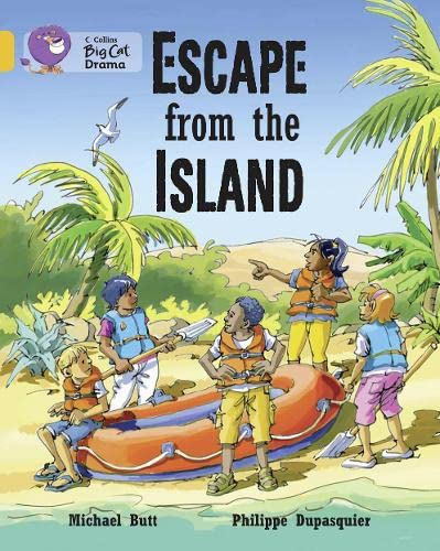 9780007475155: Collins Big Cat - Escape from the Island: Band 9/ Gold