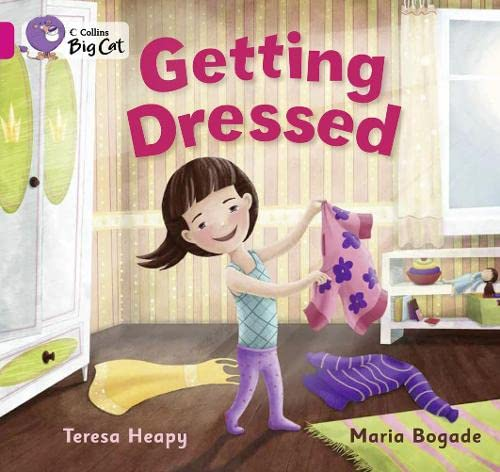 9780007475544: Getting Dressed (Collins Big Cat)