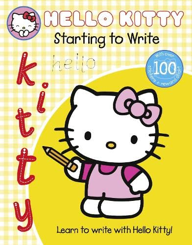 9780007477883: Learn with Hello Kitty: Starting to Write