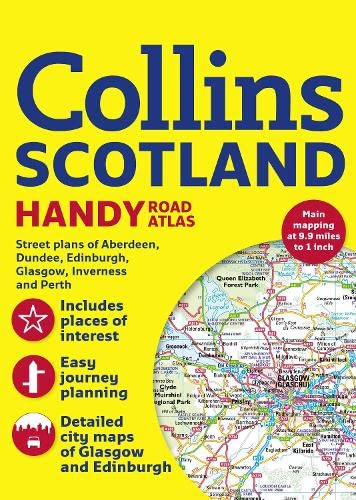 9780007478965: Collins Scotland Handy Road Atlas- Collín (International Road Atlases)
