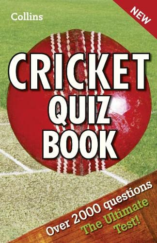 9780007479955: Collins Cricket Quiz Book