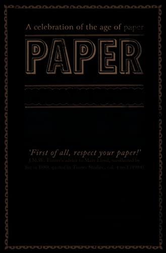 9780007480265: Paper: An Elegy