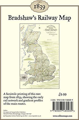 9780007480289: Bradshaw's Railway Map 1839