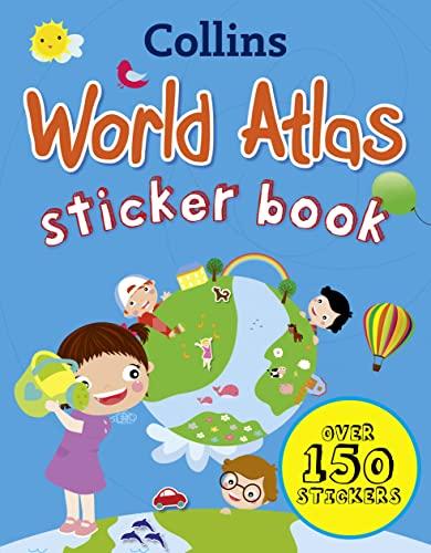 9780007481446: Collins World Sticker Atlas (Collins Sticker Books)