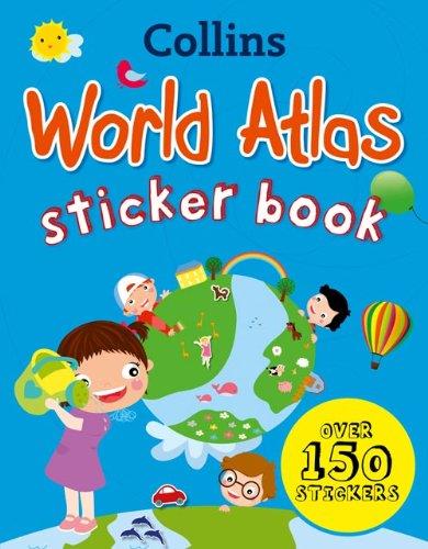 9780007481446: Collins World Atlas Sticker Book (Collins Sticker Books)