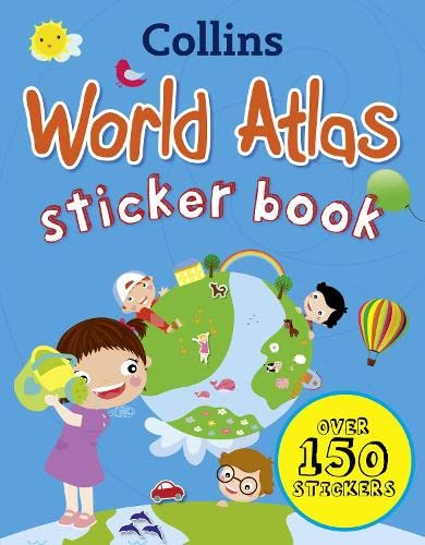 9780007481446: Collins World Sticker Atlas (Collins Sticker Books)