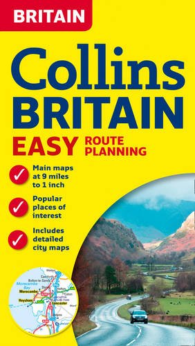 9780007482788: Collins Britain Easy Route Planning Map