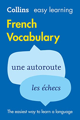 9780007483914: Easy Learning French Vocabulary (Collins Easy Learning French)