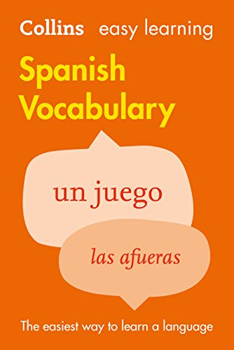 9780007483938: Easy Learning Spanish Vocabulary (Collins Easy Learning Spanish) (Spanish and English Edition)