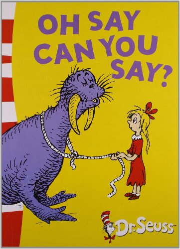 9780007484218: Oh Say Can You Say?: Green Back Book (Dr Seuss - Green Back Book)