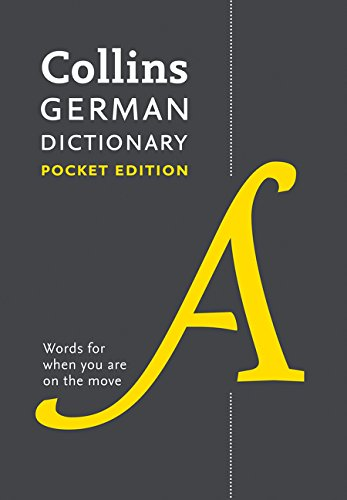 9780007485499: Collins German Dictionary Pocket Edition: 44,000 Translations in a Portable Format (English and German Edition)