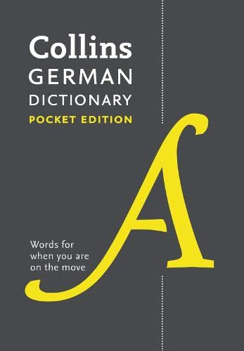 9780007485499: Collins German Dictionary Pocket Edition: 44,000 Translations in a Portable Format (German and English Edition)