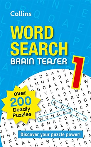 9780007485673: Collins Word Search Brain Teaser 1