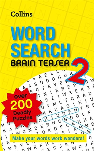 9780007485680: Collins Word Search Brain Teaser 2
