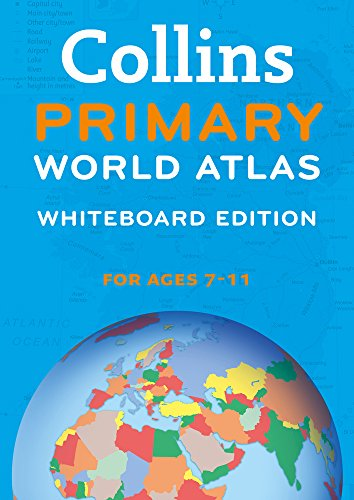 9780007485857: Collins Primary World Atlas Whiteboard Edition (Collins Primary Atlases)
