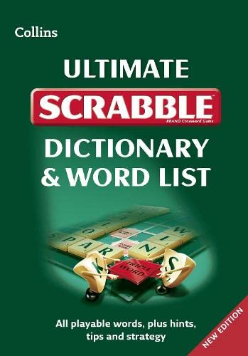 9780007486878: Collins Ultimate Scrabble Dictionary and Wordlist